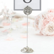 Jeweled Table Number Holders (Set of 4)