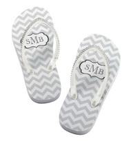 Personalized Monogram Flip Flops {Sold Individually}