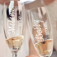 Personalized Toasting Glass (Sold Individually)
