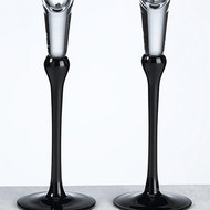 Black Toasting Glass Set