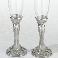 Jeweled Toasting Glass Set
