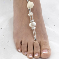 Seashell Beaded Foot Jewelry Set