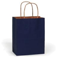 DIY Navy Blue Paper Gift Bag (Welcome Bag)