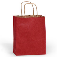 DIY Red Paper Gift Bag (Welcome Bag)