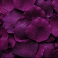 Concord Grape Silk Petals {Package of 100}