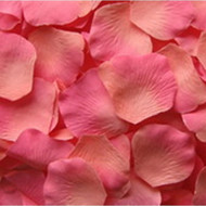 Pink Coral Silk Petals {Package of 100}