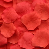 Salmon Silk Petals {Package of 100}
