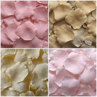 Timeless Blush and Neutral Collection of Silk Petals {Package of 400} | Blush | Sand | Cream | Carnation