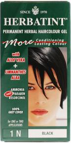 Herbatint Hair Colour - Natural Black 1N - 150ml