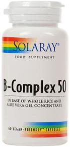 Solaray B-Complex 50 - 60 Capsules