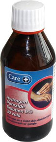 Care Hydrogen Peroxide Solution 9% 30 vols - 200ml