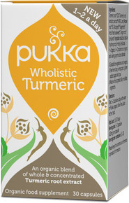 Pukka Wholistic Turmeric - 30 Capsules