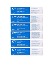 K-Y Jelly Personal Lubricant - 82g (Pack of 6)