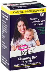 Hopes Relief Soap Free Cleansing Bar - 110g