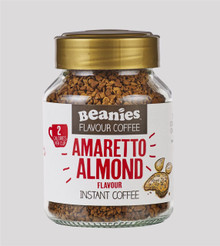 Beanies Coffee Amaretto Flavour Instant Coffee - 50g