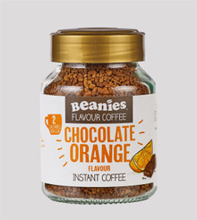 Beanies Coffee Chocolate Orange Flavour Instant Coffee - 50g