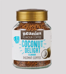 Beanies Coffee Coconut Flavour Instant Coffee - 50g