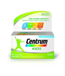 Centrum Kids Multivitamin And Minerals - 30 Tablets