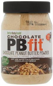 BetterBody PBfit Powdered Chocolate Peanut Butter Powder - 225g