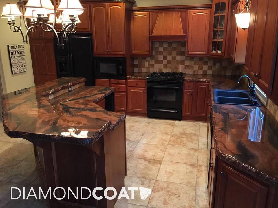 Diamond Coat Youngstown - Custom epoxy countertops and floors
