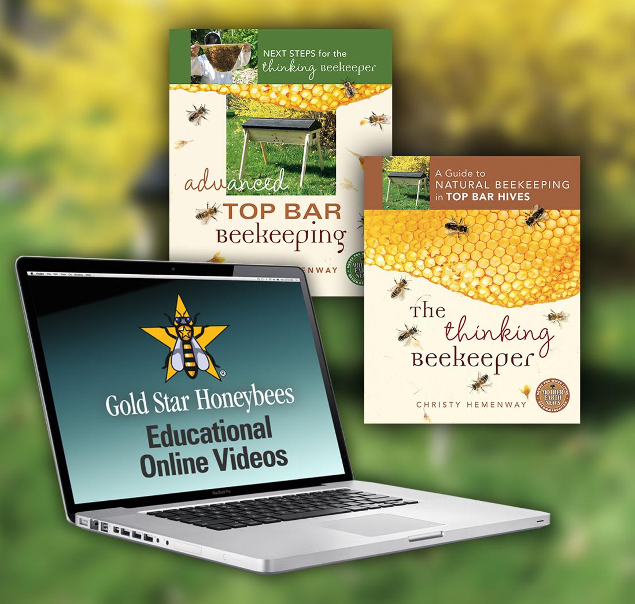 the thinking beekeeper educational series gold star honeybees