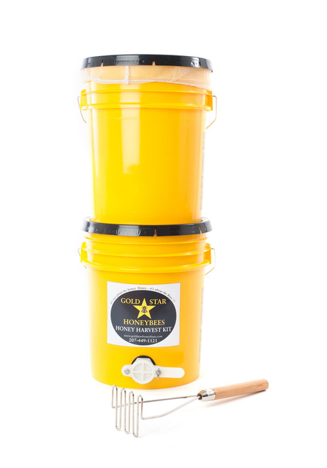 Harvesting honey is a snap in a Gold Star Honey Harvest kit.