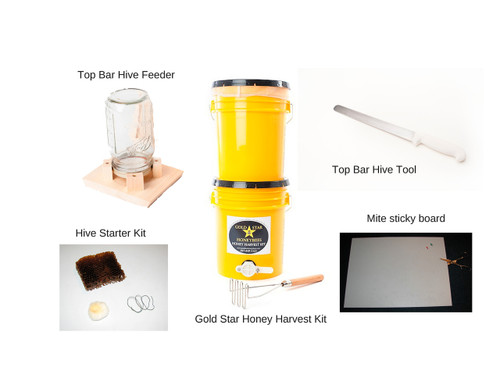 Top Bar Beekeeper's Tool Package