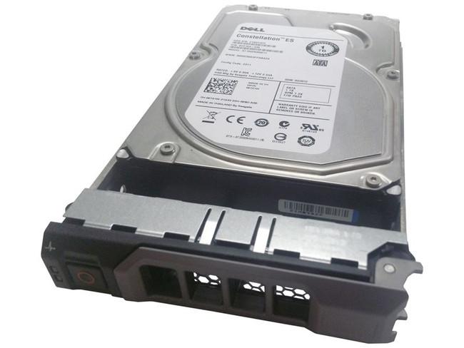 """Dell 2T51W Hard Drive 1TB 7.2K SATA 3.5"""" in Tray"""