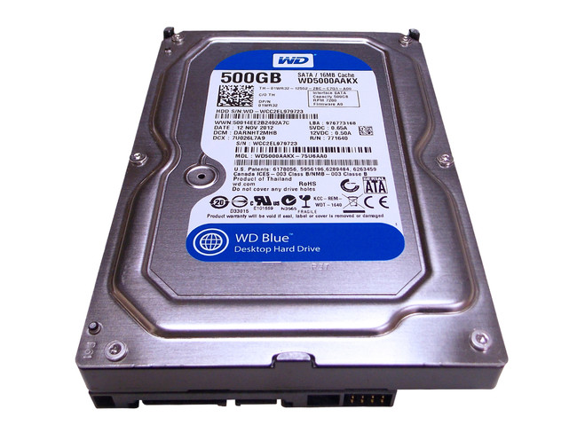 "Dell 1WR32 Hard Drive 500GB 7.2K SATA 3.5"""