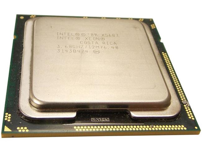 Dell 833RC X5687 3.6Ghz Quad-Core Processor