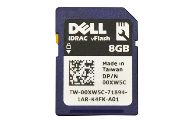 Dell 0XW5C VFlash Storage 8GB SD Memory Card for PowerEdge