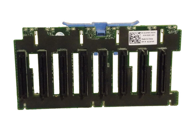 """Dell 22FYP 1x8 2.5"""" Backplane for PowerEdge R720 & R820"""