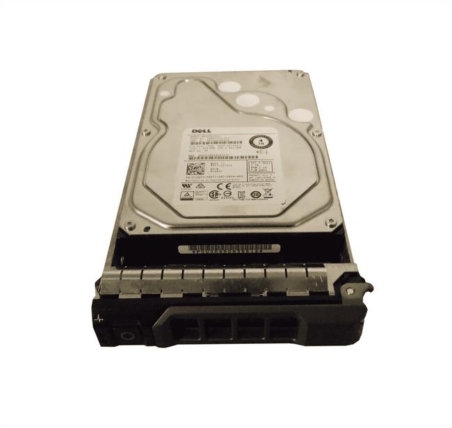 """Dell 12GYY Hard Drive 4TB 7.2K SAS 3.5"""" in Tray"""