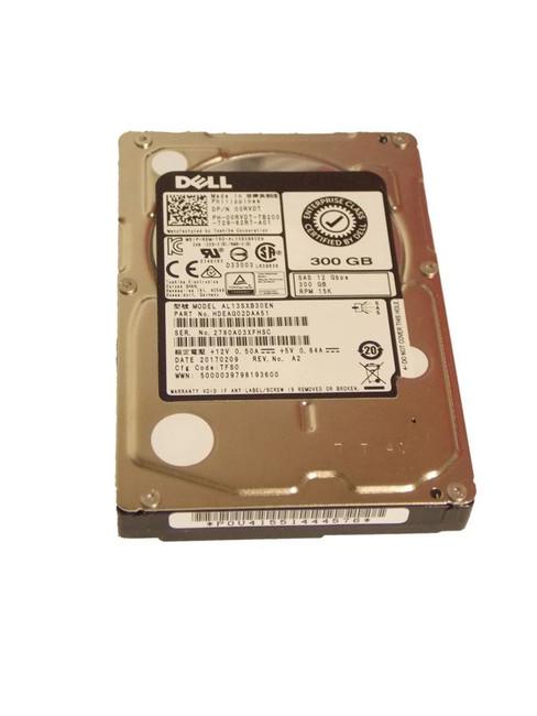 "Dell 0RVDT Hard Drive 300GB 15K 2.5"" SAS"