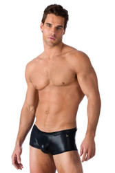 Gregg Homme Underwear Boy Toy Boxer Brief Black 95005 from Topdrawers Menswear - Full View