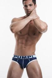 PUMP! Underwear Blue Steel Brief 12029 from Topdrawers Menswear - Full View
