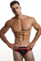 PUMP! Uppercut Brief 12034 Front View - Topdrawers Underwear for Men