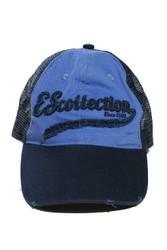 09 Navy - ES Collection Baseball Cap CAP001 - Topdrawers Menswear