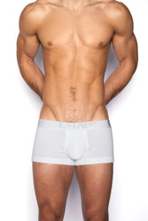 100 White - C-IN2 Core Lo No Show Army Trunk 4023 - Front View - Topdrawers Underwear for Men