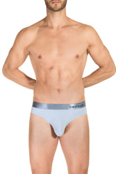 1E Ice - Obviously PrimeMan Brief A02 - Front View - Topdrawers Underwear for Men