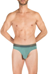 1G Teal - Obviously EveryMan Brief B02 - Front View - Topdrawers Underwear for Men