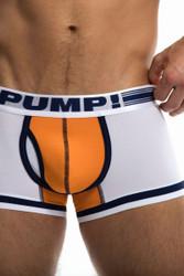 PUMP! Touchdown Varsity Boxer 11076 - Front View - Topdrawers Underwear for Men