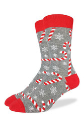 Good Luck Sock Candy Canes Crew Sock 1382