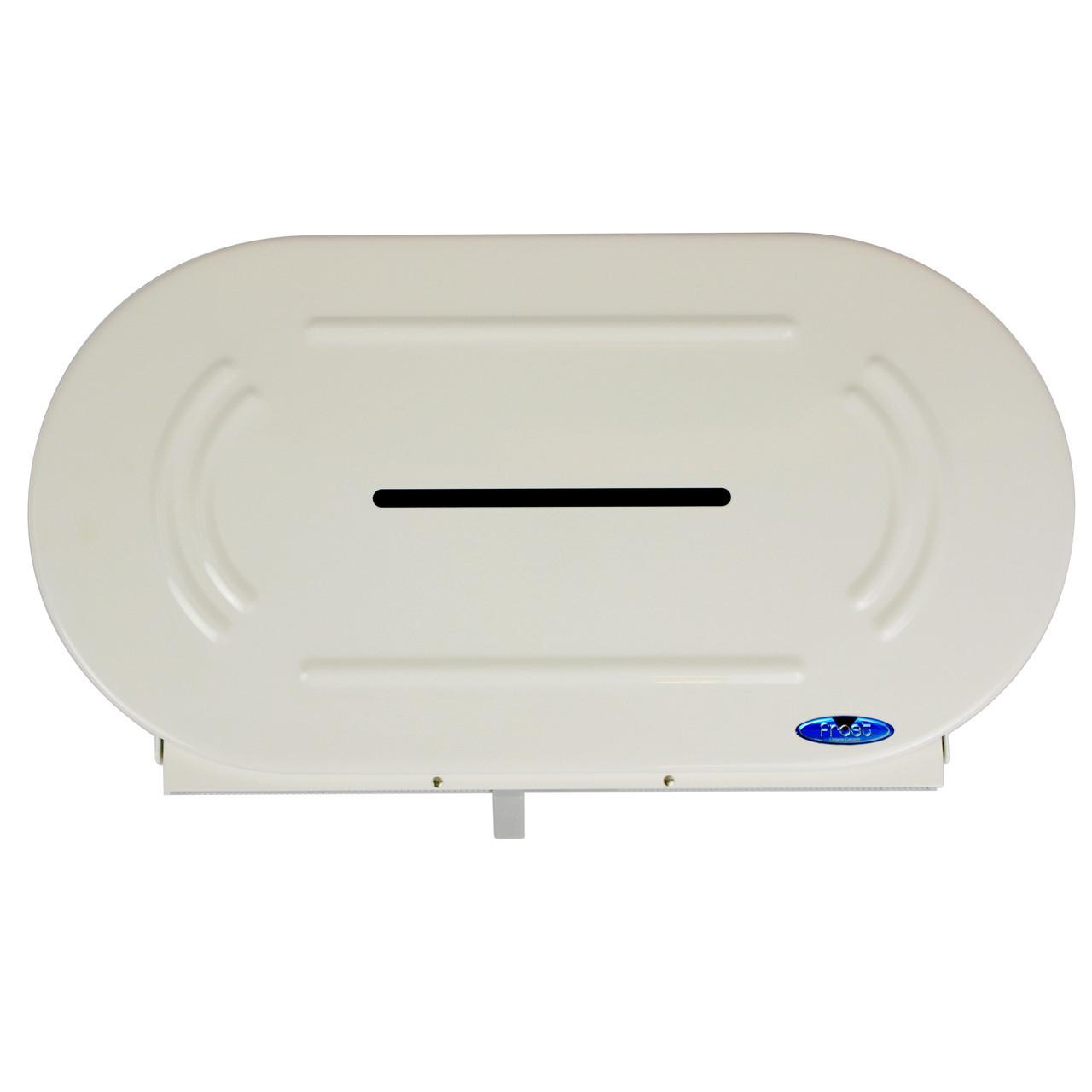 Frost 169 - Twin Jumbo Roll Toilet Tissue Dispenser   Handy Washroom