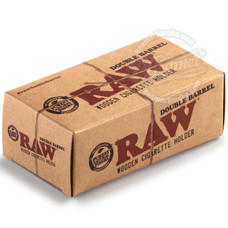 Raw 1 1/4 Size Double Barrel Cone Holder