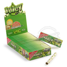 Juicy Jay's Green Apple Flavor 1 ¼ Size Rolling Papers