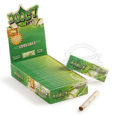 Juicy Jay's Cool Jays Flavor 1 ¼ Size Rolling Papers