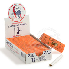 Zig Zag Orange 1 ¼ Size Rolling Paper - You Pick Quantity