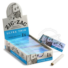 Zig Zag Ultra Thin 1 ¼ Size Rolling Paper - You Pick Quantity