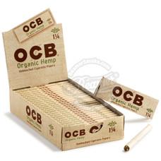 OCB Organic Hemp 1 ¼ Size Rolling Papers